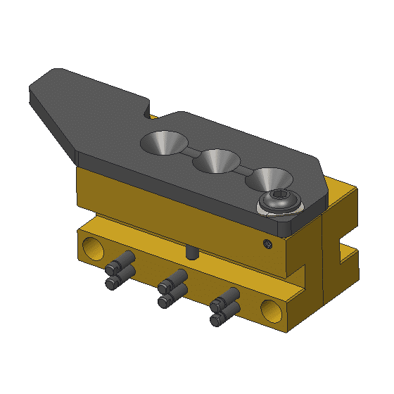 mp-molds 3 cavity hollow point mold