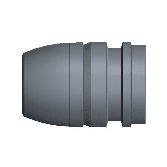 433-640 Light hollow point mold gas check