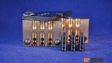 MP 257 Jack rabbit, 3 cavity hollow point mold