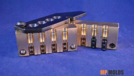 MP 314-640 115GN 4 cavity brass mold