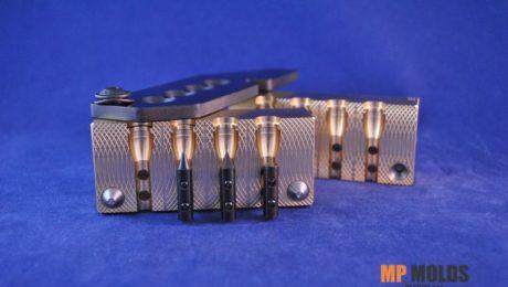 MP 357-125 Hollow point mold, 4 cavity brass