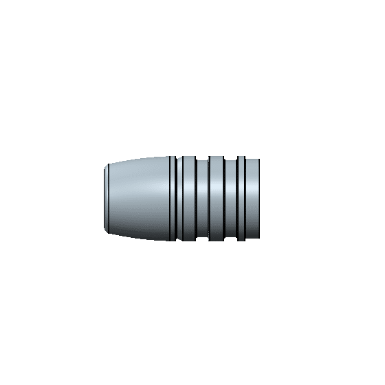 45-340 hollow point mold gas check